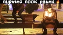 BURNING BOOK PRANK 🔥-Julien Magic