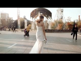 Свадебное платье от дизайнера Ланы Мариненко