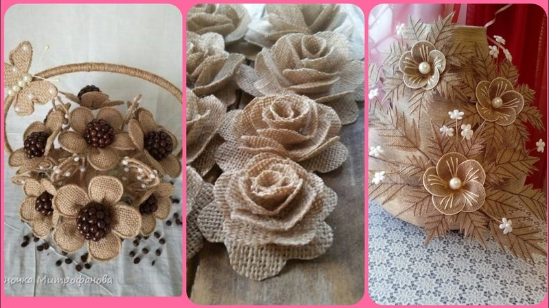 Beautiful latest jute craft stylish home decor ideas