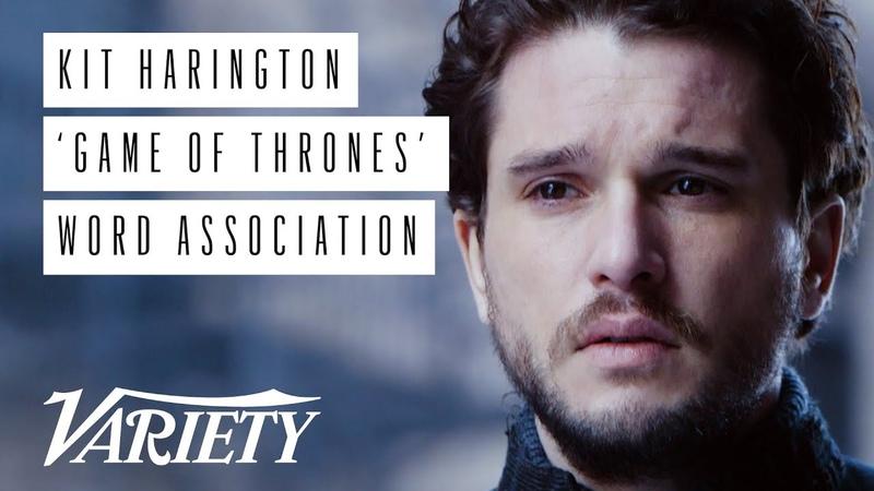Kit Harington Plays 'Game of Thrones' Word Association