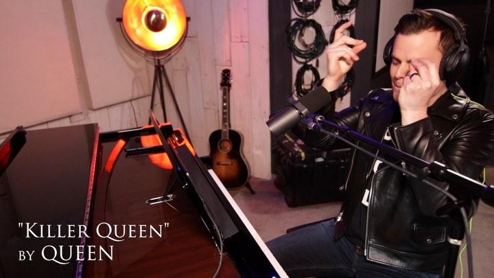 "Marc Martel on Instagram: ""(link in bio) Queen's breakthrough hit, Killer Queen appeared on their third album, Sheer Heart Attack in 1974. I woul..."