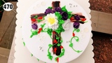 chocolate cake decorating bettercreme vanilla (470) H