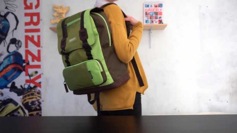 Видеообзор мужского рюкзака GRIZZLY RU-619-2