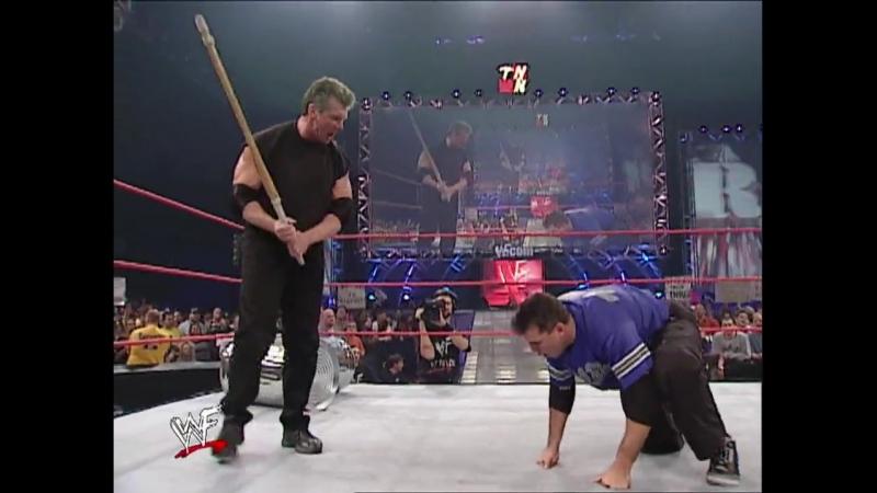 Shane McMahon Vs Vince McMahon - Street Fight - RAW 29.10.2001