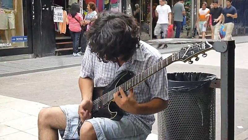 Scorpions still loving you Cover de Damian Salazar Un amigo