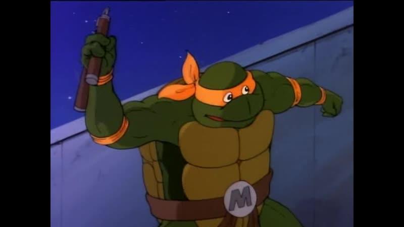 Teenage Mutant Ninja Turtles 1987 1996 S01E01 Turtle Tracks