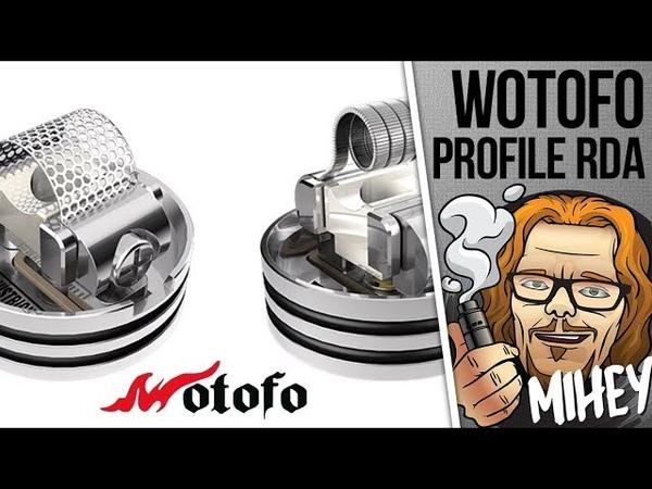 Wotofo Profile RDA. Вариативная дрипка, сетка.🎷🎻🎹🎸