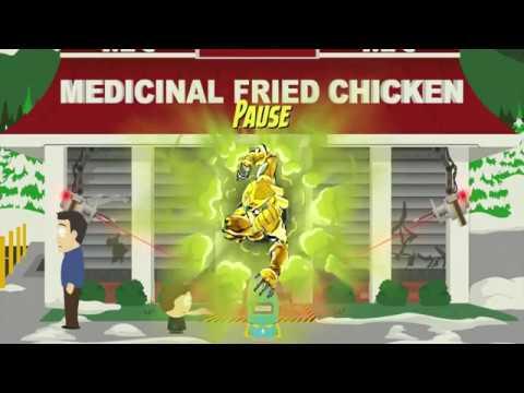 「ZA WARUDO」 and 「Bites Za Dusto」in South Park The Fractured But Whole