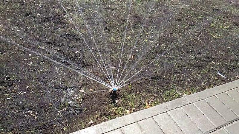 Система полива объект Центральная площадь г. Сарапула (Ижевск, Удмуртия)