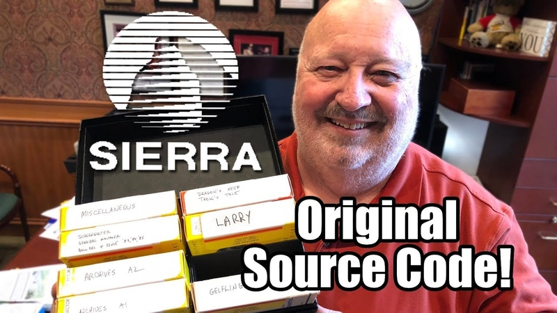 Ex-SIERRA Game Developer is selling Original Source Code! - Leisure Suit Larry, King's Quest More!