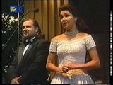 L'elisir d'amore duetto Nemorino Adina ,Anna Netrebko,Yevgeny Akimov,conductor Aleksandrs Vilumanis