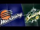 Seattle Storm vs Phoenix Mercury WNBA Game Highlights 5 25 2019