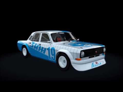 Assetto Corsa -Mods- Bugatti Le Mans GAZ 24-10 Volga Downloads