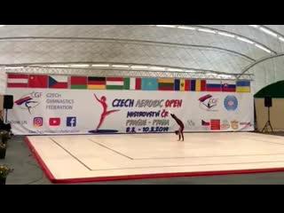 Czech Aerobic Open 2019. NG IW. Lisiachenko Sofia (RUS)