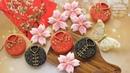 CHINESE NEW YEAR ~ CHEONGSAM BLOSSOM Decorated Cookies