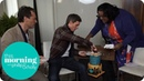 Jude Law and Eddie Redmayne Share a Cake With Alison Hammond | This Morning