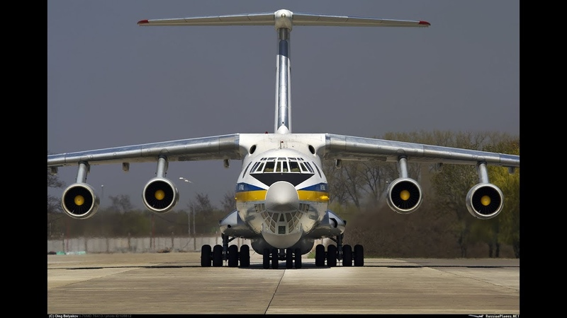 Новогодний «подарок» от Укpаины - что Ил-76 доставил в США...