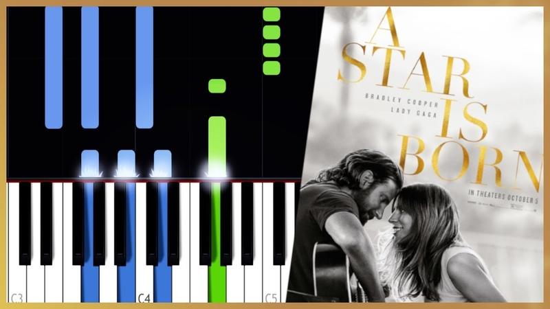 Lady Gaga Bradley Cooper Shallow A Star Is Born Piano Tutorial