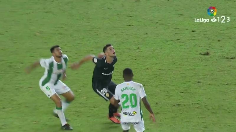 Кордова CF - UD Альмерия, 1-0, Сегунда 2018-2019, 8 тур