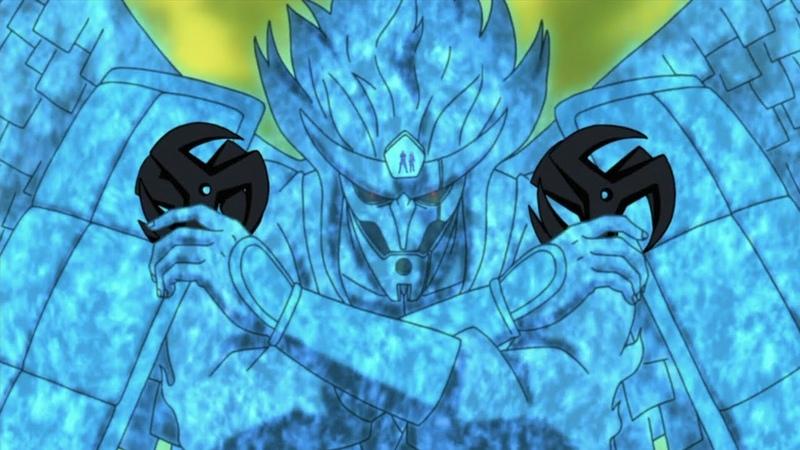 Какаши использует всю силу мангекё шарингана Обито В этот раз я защищу их и спасу мир