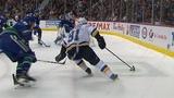 Vladimir Tarasenko drives to the net, eludes three defenders for terrific goal