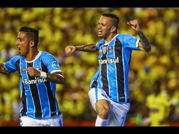Luan Guilherme vs Barcelona (Equ) Copa Bridgestone Libertadores da América 2017 HD
