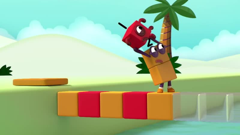 Numberblocks - NEW EPISODE! _ Pattern Palace _ Learn to Count