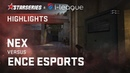 Highlights: nex vs ENCE eSports | StarSeries i-League CS:GO Season 6