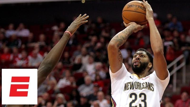 Pelicans dominate Rockets 131 112 Anthony Davis 32 pts 16 rebs 8 ast NBA Highlights