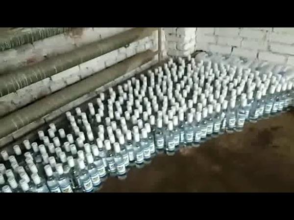 Контрафакт: в Могилевском р-не при перевозке изъято 180 л спирта и 150 л водки