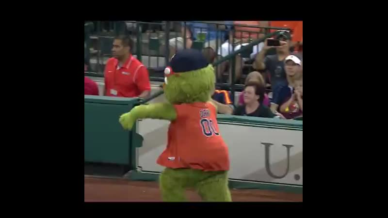 This mascot challenged the wrong man