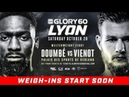 GLORY 60 Lyon: Official Weigh-Ins