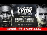 GLORY 60 Lyon Official Weigh-Ins