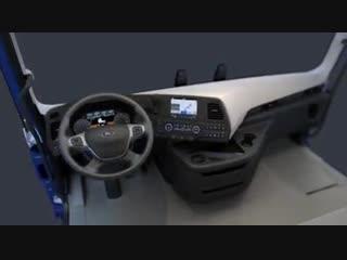 Кабина нового Форд F-Max