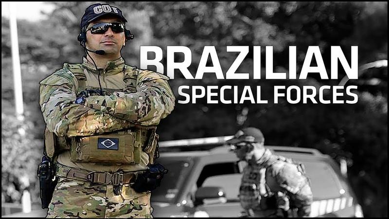 Brazilian Special Forces - BOPE | COT | TIGRE | GRUMEC | COMANF | COE [HD]