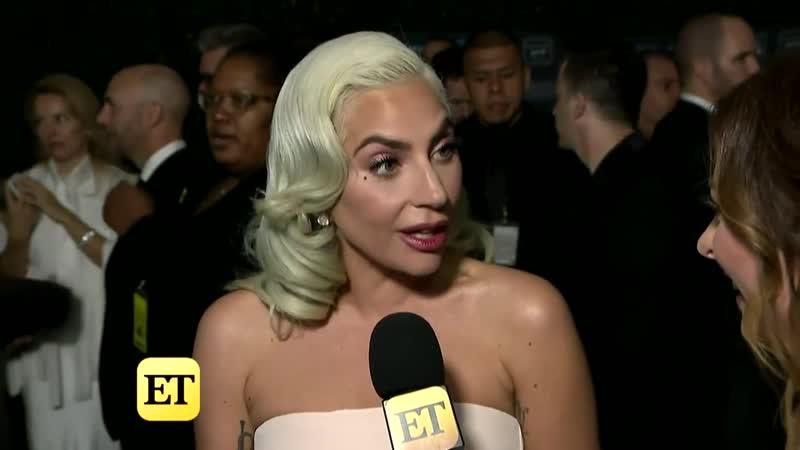 Интервью Леди Гаги для Entertainment Tonight (Critics Choice Awards)