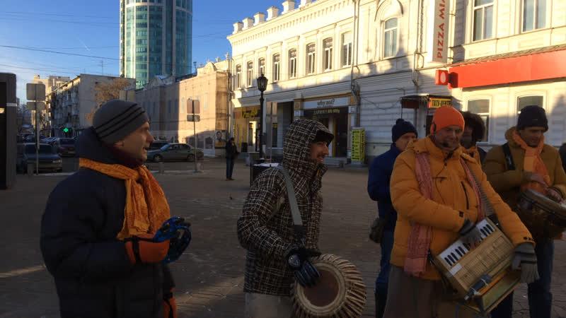 Харинама в Екатеринбурге