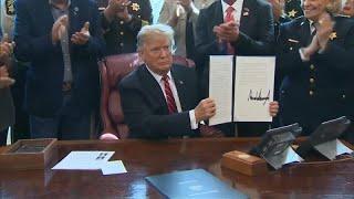 Первое вето президента Трампа
