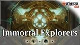 Immortal Explorers - GW Explore Tokens Deck Guide and Gameplay MTG Arena