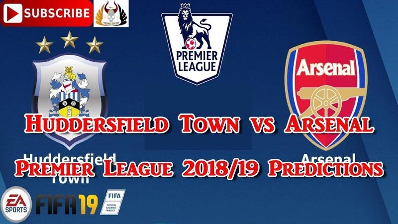 Huddersfield Town vs Arsenal | Premier League 2018-19 | Predictions FIFA 19
