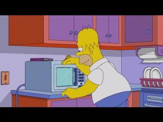 Симпсоны    Готовка Гомера