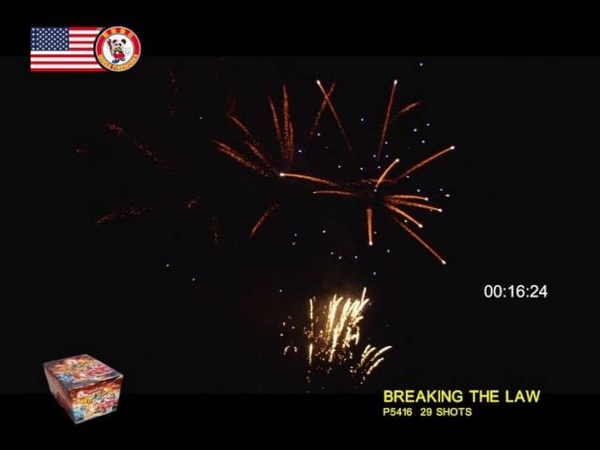 BREAKING THE LAW 29'S P5416 by Winda Fireworks
