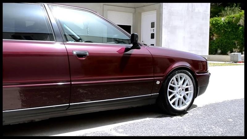 Audi 80 - keramička zaštita laka - Detailing centar R