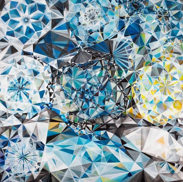 Michelle Hinebrook ( 1977 - ,Brooklyn, NY, United States) Hinebrook использует и традиционные методы и цифровую технологию обработки изображений. Ее первоначальные эскизы, включая фотографии