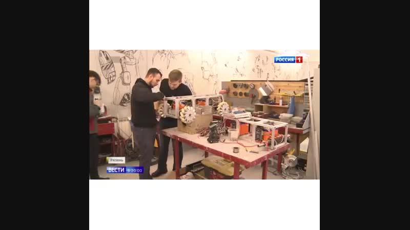 Президенту России Владимиру Путину показали рязанский беспилотный трактор на выставке проектов Агентства стратегических инициати