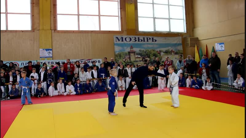 Дроздов Ренат на турнире по дзюдо в Мозыре 10.11.18.