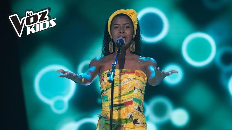 Saray canta Yo me Llamo Cumbia - Audiciones a ciegas | La Voz Kids Colombia 2018