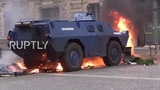 France Armoured vehicles deployed on Parisian streets as 'Yellow Vests' protests continue