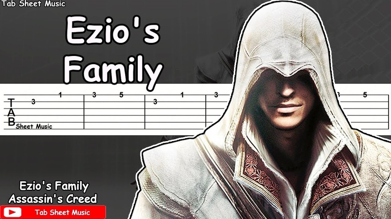 Assassins Creed 2 - Ezios Family Guitar Tutorial