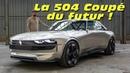 Peugeot e Legend Concept la 504 Coupé du futur